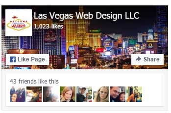 web design facebook page
